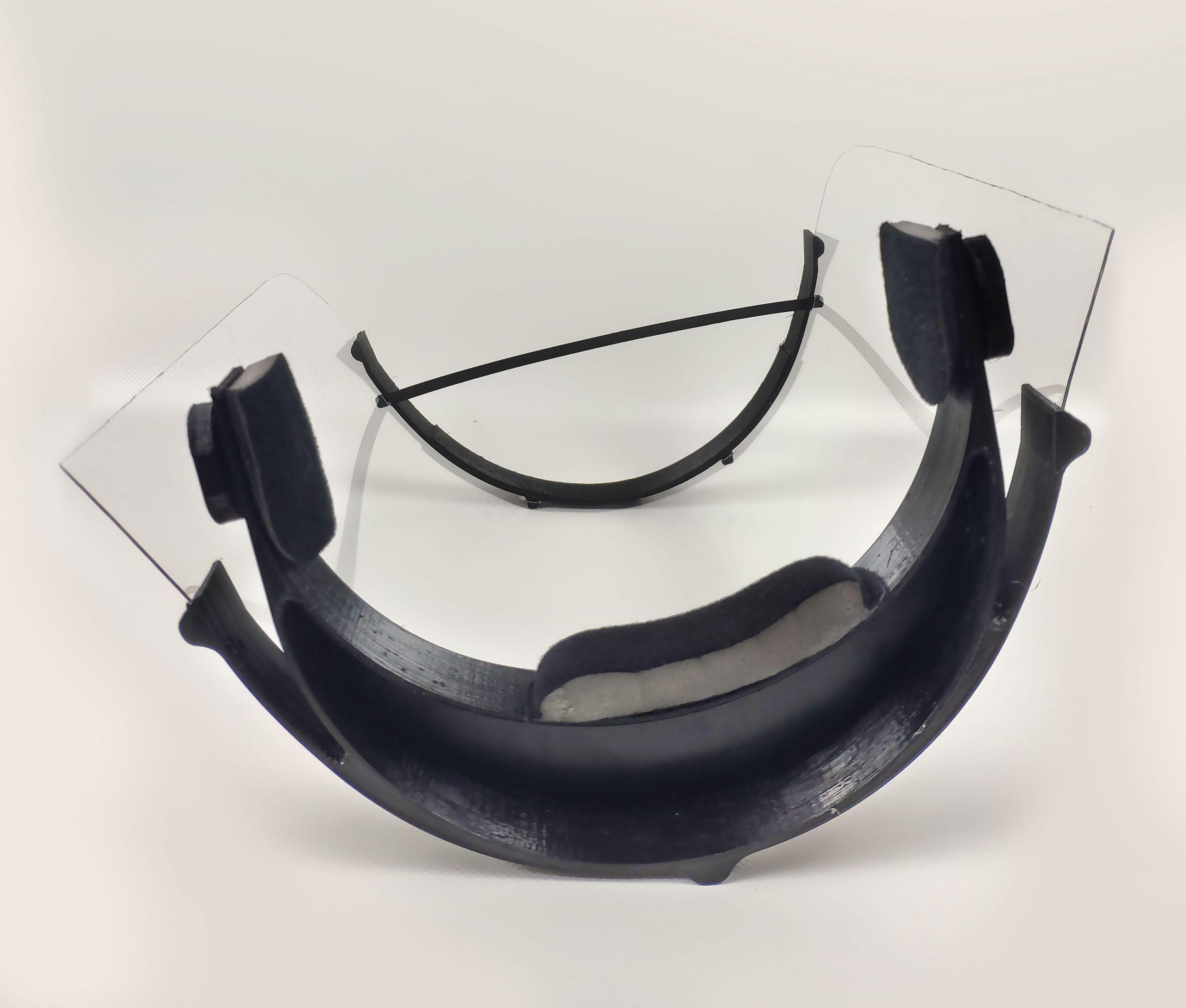Schutzmaske-liegend